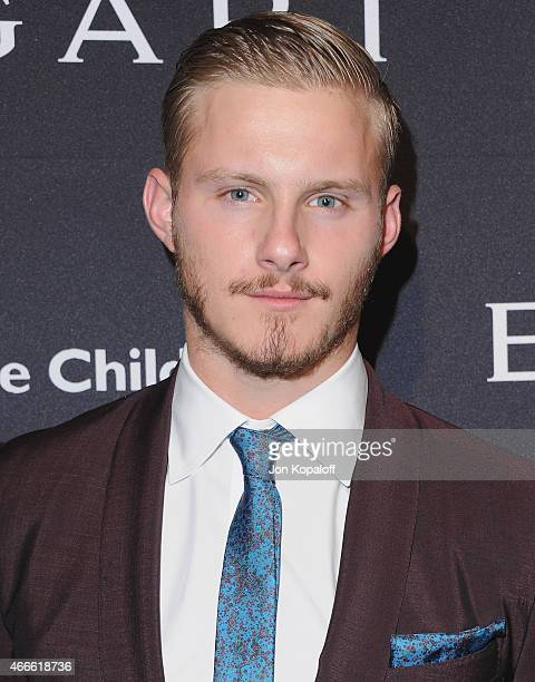 Actor Alexander Ludwig arrives at BVLGARI And Save The Children STOP THINK GIVE PreOscar Event at Spago on February 17 2015 in Beverly Hills...