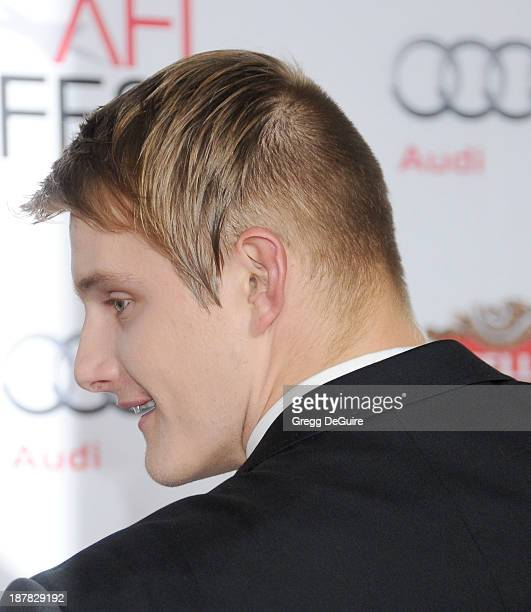 Actor Alexander Ludwig arrives at the AFI FEST 2013 for the 'Lone Survivor' premiere at TCL Chinese Theatre on November 12 2013 in Hollywood...