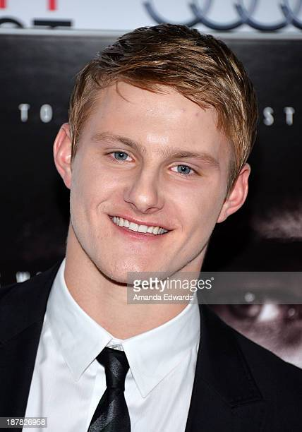Actor Alexander Ludwig arrives at the AFI FEST 2013 Presented By Audi 'Lone Survivor' premiere at TCL Chinese Theatre on November 12 2013 in...