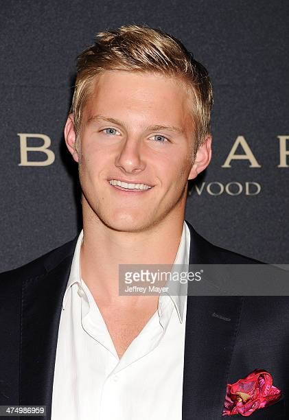 Actor Alexander Ludwig arrives at the BVLGARI 'Decades Of Glamour' Oscar Party Hosted By Naomi Watts at Soho House on February 25 2014 in West...