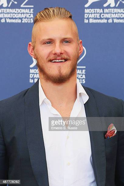 Actor Alexander Ludwig attends a photocall for 'Go With Me' during the 72nd Venice Film Festival at Palazzo del Casino on September 11 2015 in Venice...