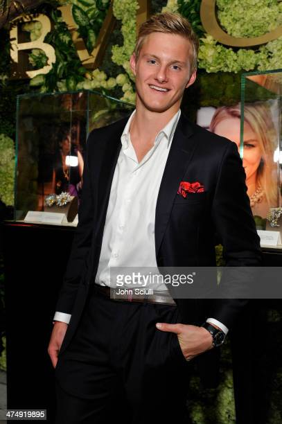 Actor Alexander Ludwig attends 'Decades of Glamour' presented by BVLGARI on February 25 2014 in West Hollywood California