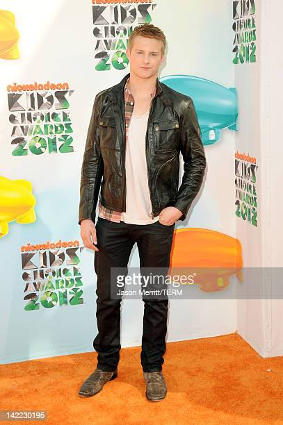 Actor Alexander Ludwig attends Nickelodeon's 25th Annual Kids' Choice Awards held at Galen Center on March 31 2012 in Los Angeles California