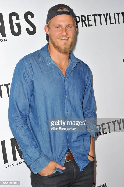 Actor Alexander Ludwig attends 'Secret Party' Launch Celebrating Cover Star Cameron Dallas hosted by TINGS at Nightingale on August 23 2017 in West...