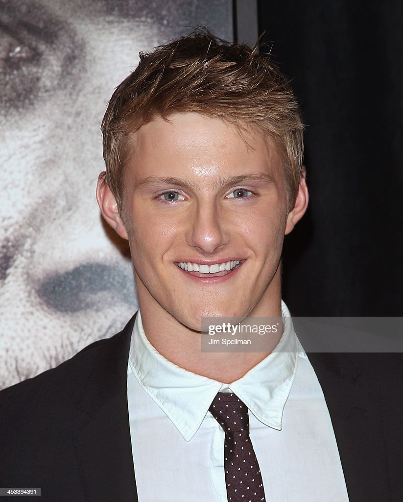 Actor Alexander Ludwig attends the 'Lone Survivor' New York premiere at Ziegfeld Theater on December 3, 2013 in New York City.