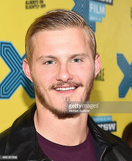 Actor Alexander Ludwig attends the premiere of 'The Final Girls' during the 2015 SXSW Music Film Interactive Festival at The Paramount Theater on...