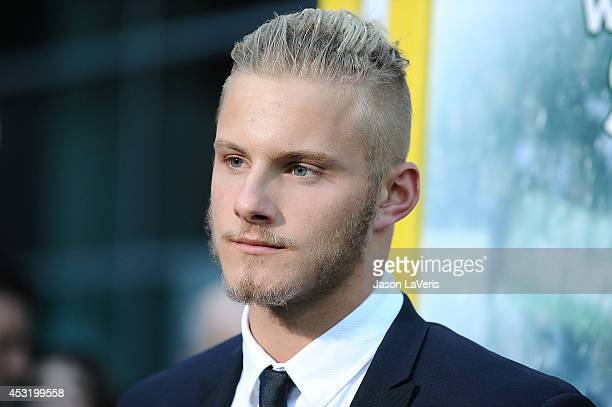 Actor Alexander Ludwig attends the premiere of 'When The Game Stands Tall' at ArcLight Hollywood on August 4 2014 in Hollywood California