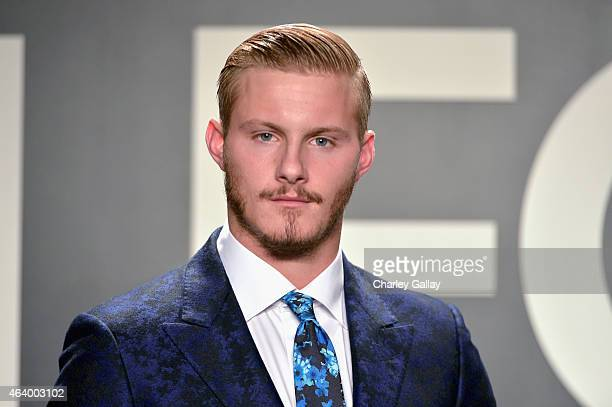 Actor Alexander Ludwig attends the TOM FORD Autumn/Winter 2015 Womenswear Collection Presentation at Milk Studios in Los Angeles on February 20 2015
