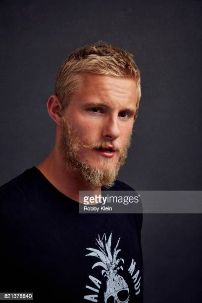 Actor Alexander Ludwig from History's 'Vikings' poses for a portrait during ComicCon 2017 at Hard Rock Hotel San Diego on July 21 2017 in San Diego...