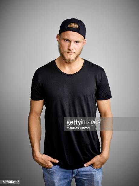 Actor Alexander Ludwig from 'Vikings' is photographed for Entertainment Weekly Magazine on July 22 2016 at Comic Con in the Hard Rock Hotel in San...