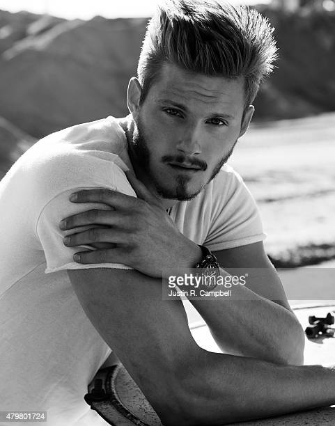 Actor Alexander Ludwig is photographed for Flaunt Magazine on February 24 2015 in Los Angeles California