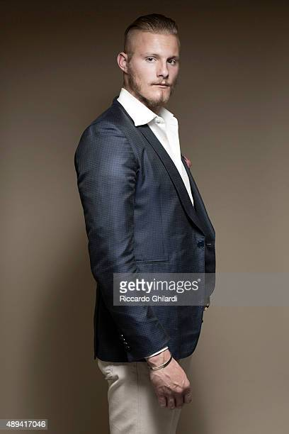Actor Alexander Ludwig is photographed for Self Assignment on September 5 2015 in Venice Italy