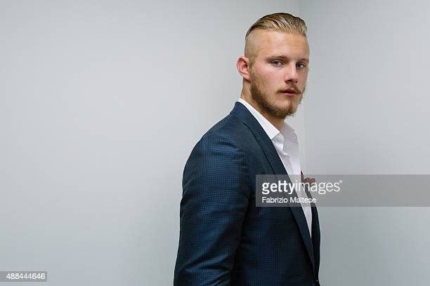Actor Alexander Ludwig is photographed for The Hollywood Reporter on September 5 2015 in Venice Italy