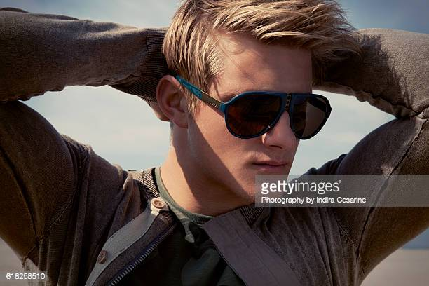 Actor Alexander Ludwig is photographed for The Untitled Magazine on January 27 2014 in Los Angeles California PUBLISHED IMAGE CREDIT MUST READ Indira...