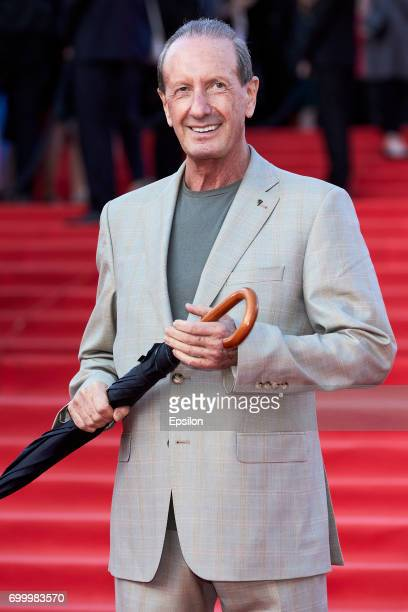 Actor Alexander Rappoport attends opening of the 39th Moscow International Film Festival outside the Karo 11 Oktyabr Cinema on June 22 2017 in Moscow...
