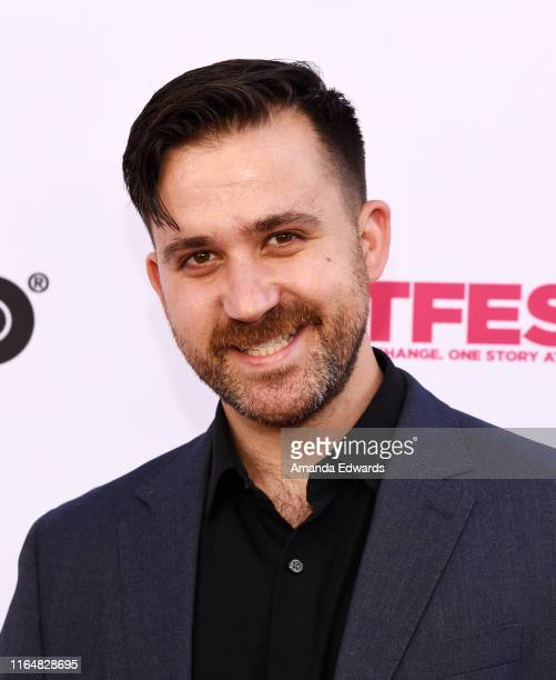 Actor Alexander Schwartz arrives at the 2019 Outfest Los Angeles LGBTQ Film Festival Closing Night Gala Premiere of Before You Know It at The Theatre...