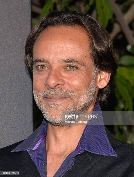 Actor Alexander Siddig attends the premiere of Spike TV's new series 'TUT' at Chateau Marmont on July 8 2015 in Los Angeles California