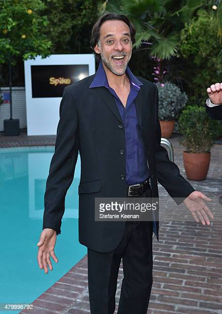 Actor Alexander Siddig attends the Vainty Fair and Spike celebration of the premiere of the new series 'TUT' at Chateau Marmont on July 8 2015 in Los...