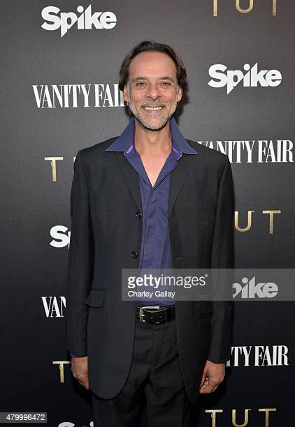 Actor Alexander Siddig attends the Vanity Fair and Spike celebration of the new series 'TUT' at Chateau Marmont on July 8 2015 in Los Angeles...