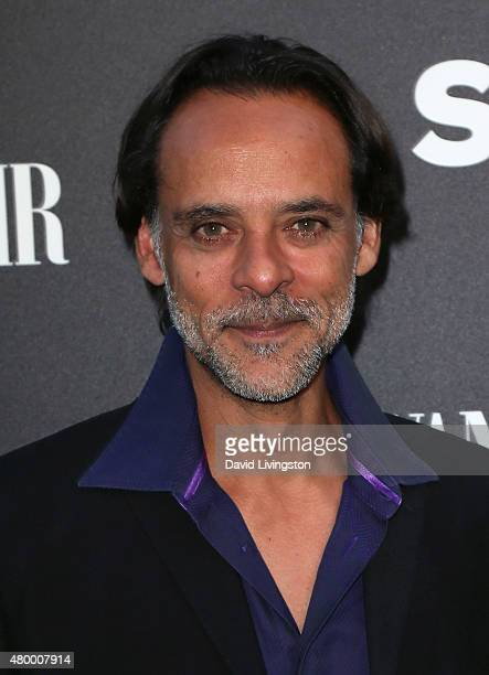Actor Alexander Siddig attends the Vanity Fair and Spike TV celebration of the premiere of the new series 'TUT' at Chateau Marmont on July 8 2015 in...