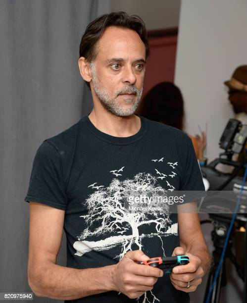 Actor Alexander Siddig from the FOX series 'Gotham' stopped by Nintendo at the TV Insider Lounge to check out Nintendo Switch during ComicCon...