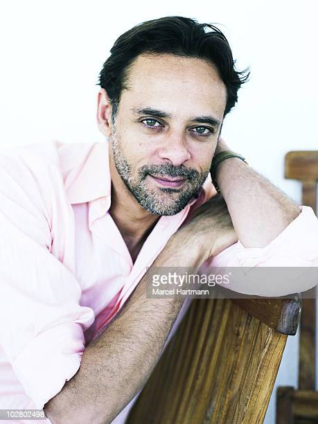Actor Alexander Siddig poses for a portrait shoot in Cannes France