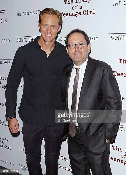 Actor Alexander Skarsgard and copresident and cofounder of Sony Pictures Classics Michael Barker attend the Sony Pictures Classics with The Cinema...
