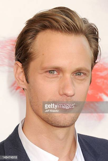 Actor Alexander Skarsgard arrives at HBO 'True Blood' season 5 premiere held at ArcLight Cinemas Cinerama Dome on May 30 2012 in Hollywood California