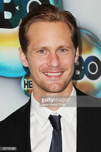 Actor Alexander Skarsgard arrives at HBO's Post 2012 Golden Globe Awards Party at Circa 55 Restaurant on January 15 2012 in Beverly Hills California
