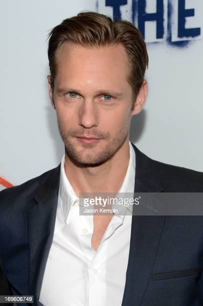 Actor Alexander Skarsgard arrives at the premiere of Fox Searchlight Pictures' The East presented by Piaget at ArcLight Hollywood on May 28 2013 in...