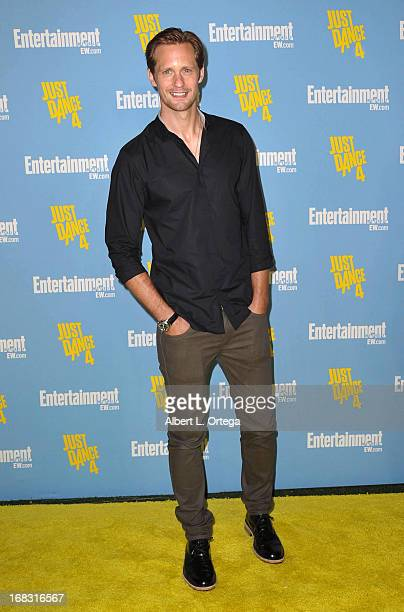 Actor Alexander Skarsgard arrives for Entertainment Weekly's Comic-Con Celebration held at Float at Hard Rock Hotel San Diego on July 14, 2012 in San...