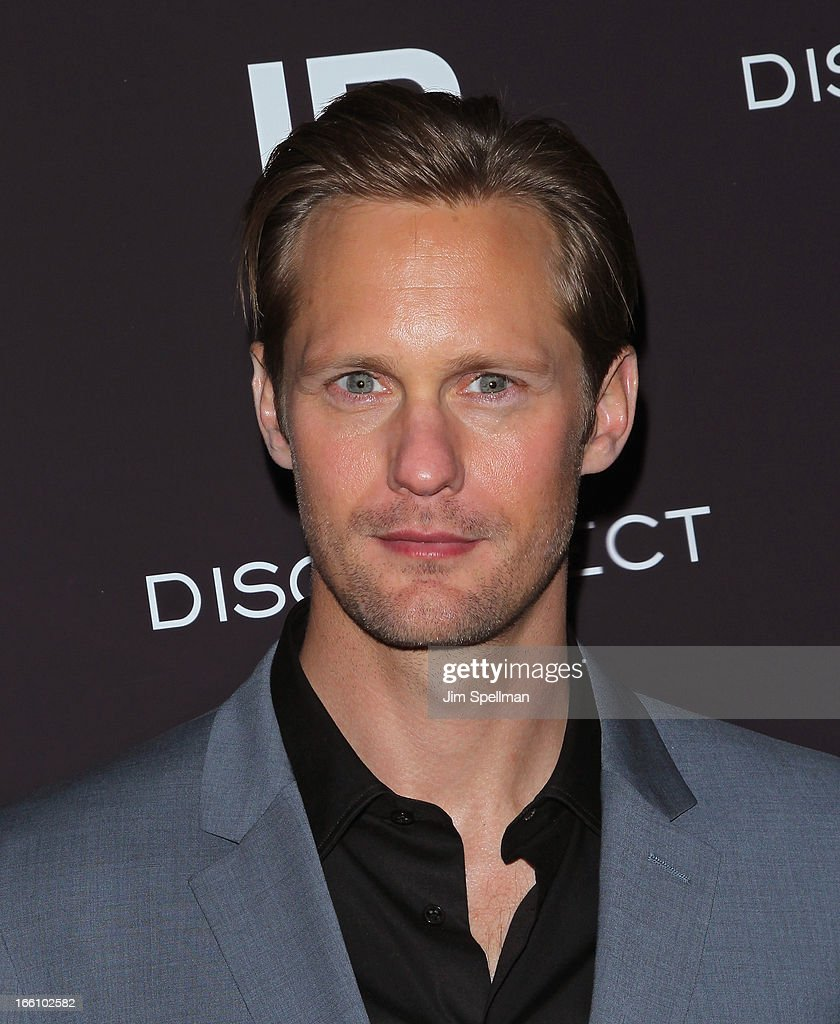 Actor Alexander Skarsgard attends 'Disconnect' New York Special Screening at SVA Theater on April 8, 2013 in New York City.