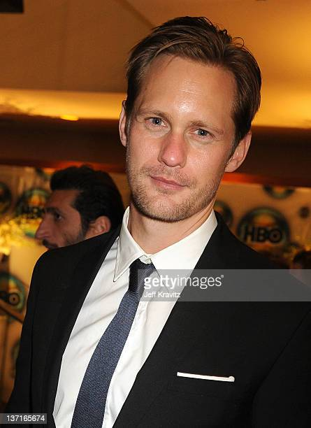 Actor Alexander Skarsgard attends HBO's Official After Party for the 69th Annual Golden Globe Awards held at The Beverly Hilton hotel on January 15...