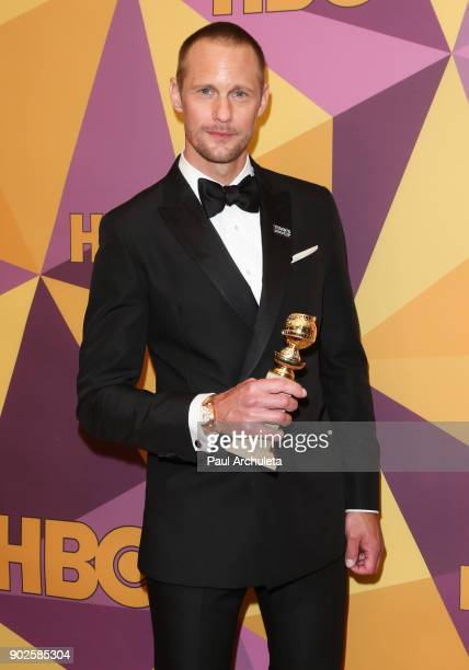 Actor Alexander Skarsgard attends HBO's official Golden Globe Awards after party at The Circa 55 Restaurant on January 7 2018 in Los Angeles...