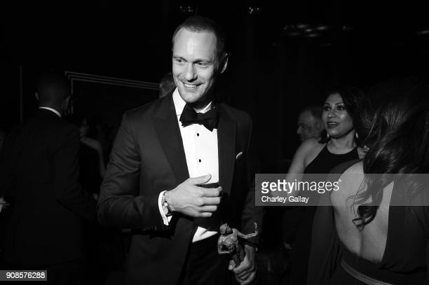 Actor Alexander Skarsgard attends People and EIF's Annual Screen Actors Guild Awards Gala sponsored by TNT and L'Oreal Paris at The Shrine Auditorium...