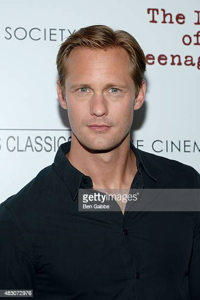 Actor Alexander Skarsgard attends Sony Pictures Classics with The Cinema Society host a Screening Of The Diary Of A Teenage Girl at Landmark Sunshine...