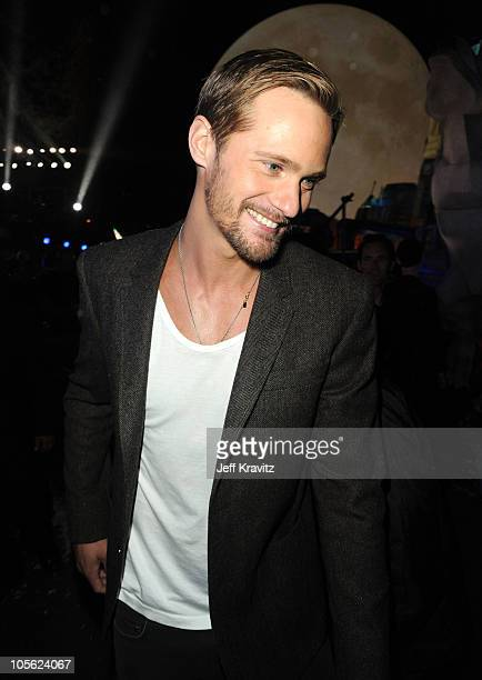 Actor Alexander Skarsgard attends Spike TV's 'Scream 2010' at The Greek Theatre on October 16 2010 in Los Angeles California