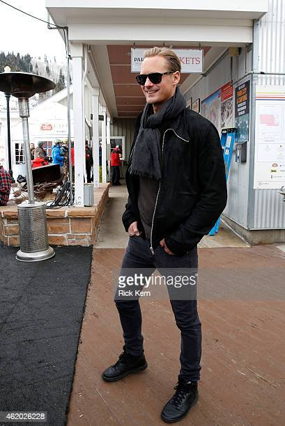 Actor Alexander Skarsgard attends Stella Artois At The Village At The Lift 2015 Day 1 on January 23 2015 in Park City Utah