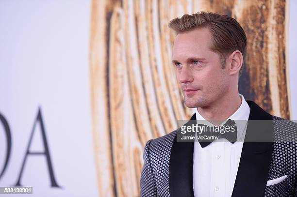 Actor Alexander Skarsgard attends the 2016 CFDA Fashion Awards at the Hammerstein Ballroom on June 6 2016 in New York City