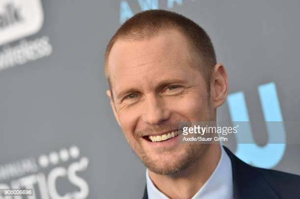 Actor Alexander Skarsgard attends the 23rd Annual Critics' Choice Awards at Barker Hangar on January 11 2018 in Santa Monica California