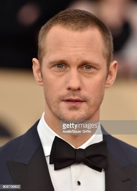 Actor Alexander Skarsgard attends the 24th Annual Screen Actors Guild Awards at The Shrine Auditorium on January 21 2018 in Los Angeles California
