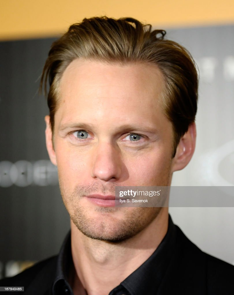 Actor Alexander Skarsgard attends The Cinema Society with Tod's & GQ screening of Millennium Entertainment's 'What Maisie Knew' at Landmark Sunshine Cinema on May 2, 2013 in New York City.