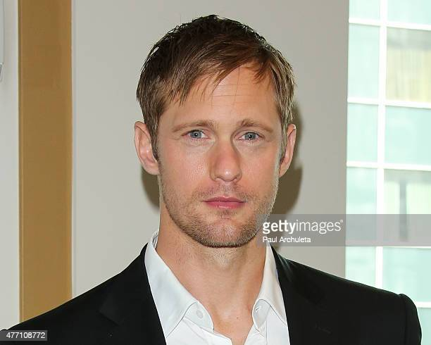 Actor Alexander Skarsgard attends the premiere of 'The Diary Of A Teenage Girl' at the 2015 Los Angeles Film Festival at Regal Cinemas LA Live on...