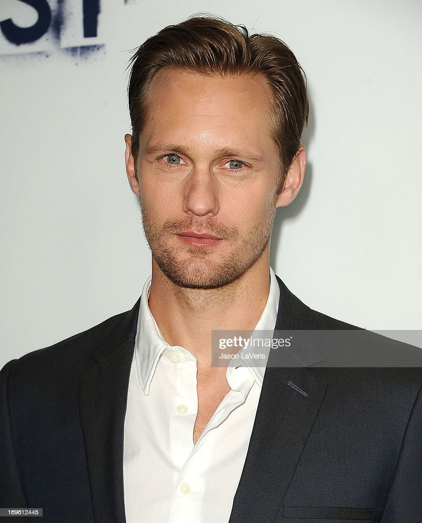 Actor Alexander Skarsgard attends the premiere of 'The East' at ArcLight Hollywood on May 28, 2013 in Hollywood, California.