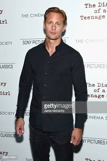 Actor Alexander Skarsgard attends the screening of Sony Pictures Classics The Diary Of A Teenage Girl hosted by The Cinema Society at Landmark...