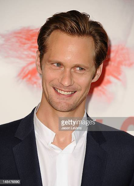 Actor Alexander Skarsgard attends the season 5 premiere of HBO's 'True Blood' at ArcLight Cinemas Cinerama Dome on May 30 2012 in Hollywood California