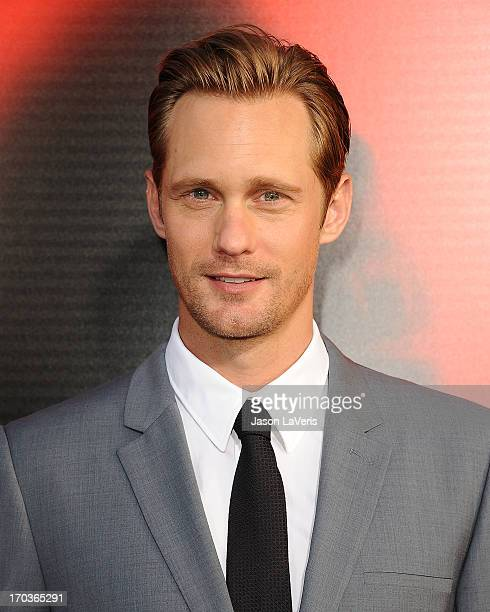 Actor Alexander Skarsgard attends the season 6 premiere of HBO's True Blood at ArcLight Cinemas Cinerama Dome on June 11 2013 in Hollywood California