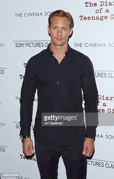 Actor Alexander Skarsgard attends the Sony Pictures Classics with The Cinema Society host a screening of The Diary Of A Teenage Girl at Landmark's...