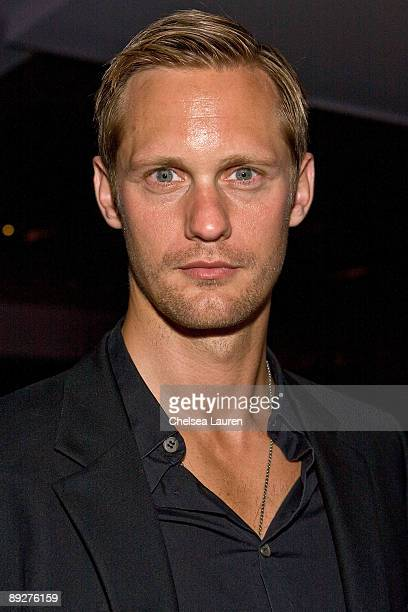 Actor Alexander Skarsgard attends the 'Wrath of Con' ComicCon party at Hard Rock Hotel San Diego on July 24 2009 in San Diego California
