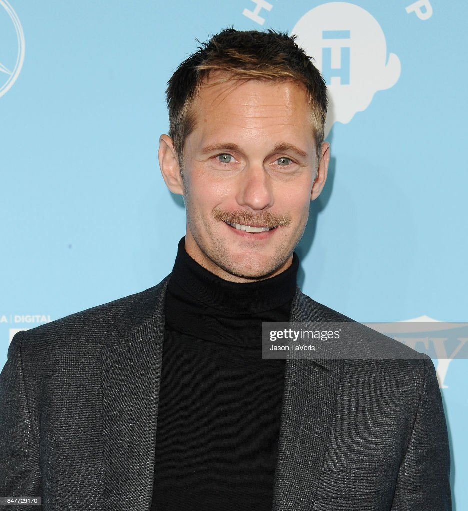 Actor Alexander Skarsgard attends Variety and Women In Film's 2017 pre-Emmy celebration at Gracias Madre on September 15, 2017 in West Hollywood, California.